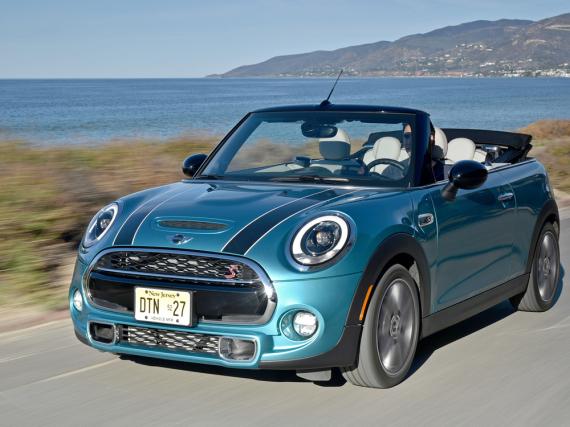 Ab Anfang März zu haben: das neue Mini Cabrio