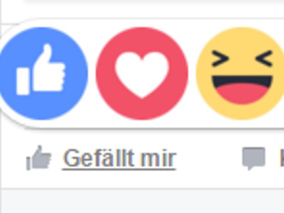 Facebook-Nutzer haben ab jetzt mehr Möglichkeiten, ihre Gefühle zu äußern