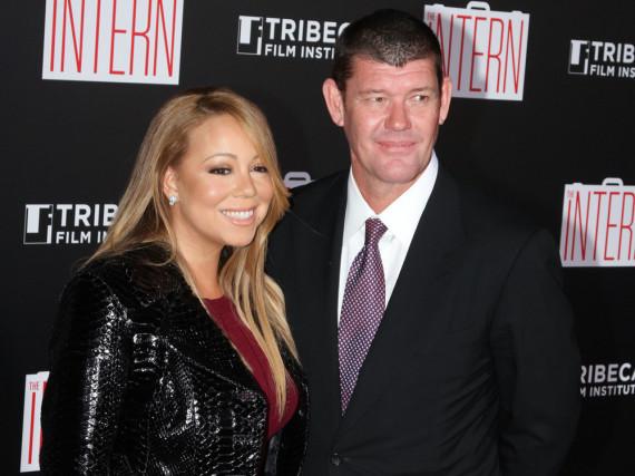 Im Januar haben sich Mariah Carey und James Packer verlobt