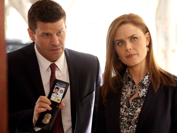 Special Agent Seeley Booth (David Boreanaz) und Dr. Temperance