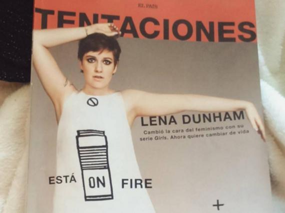 Lena Dunham ziert das März-Cover der Beilage