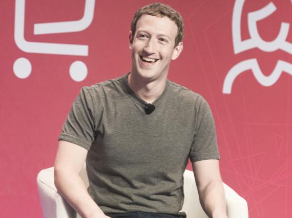 Hat Grund zur Freude: Das Vermögen von Mark Zuckerberg wächst weiter