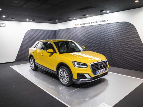 Mit dem Q2 ist den Audi-Designern ein bemerkenswerter SUV gelungen