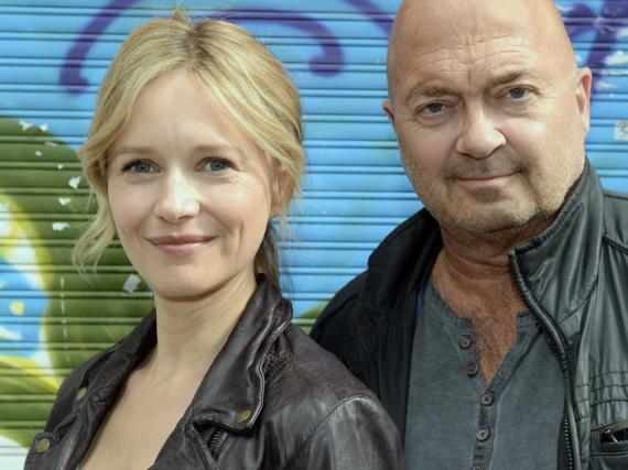 Linett Wachow (Stefanie Stappenbeck) und Otto Garber (Florian Martens) sind das neue