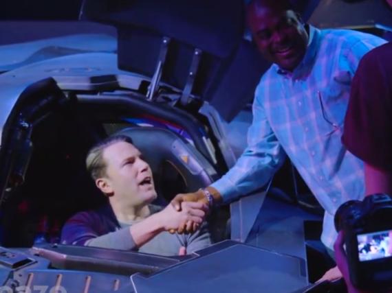 Ben Affleck überraschte Fans im Batmobil
