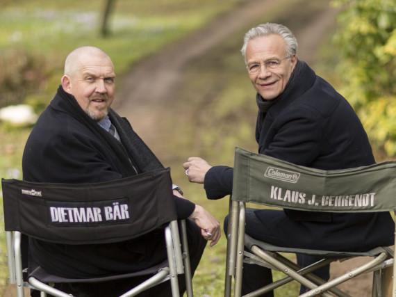 Ein eingespieltes Team: Dietmar Bär (l.) und Klaus J. Behrendt