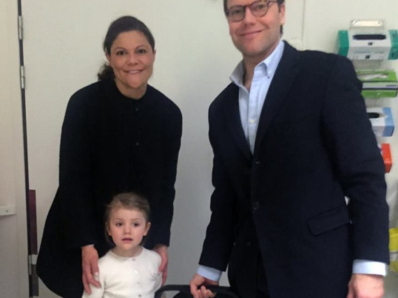 Das erste Bild der royalen Familie aus dem Krankenhaus