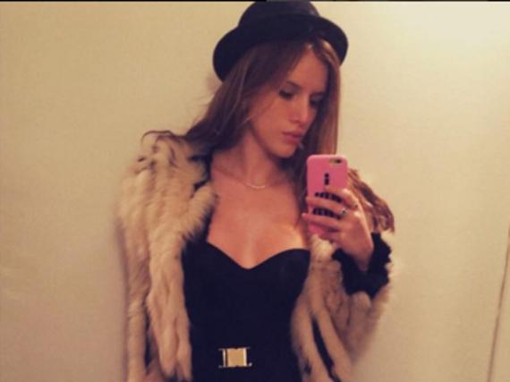 Behauptet, sie trage keinen echten Pelz: Bella Thorne