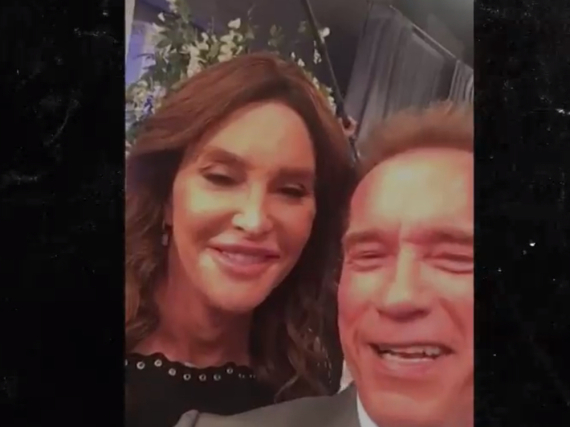 Freunde für immer: Arnold Schwarzenegger und Caitlyn Jenner
