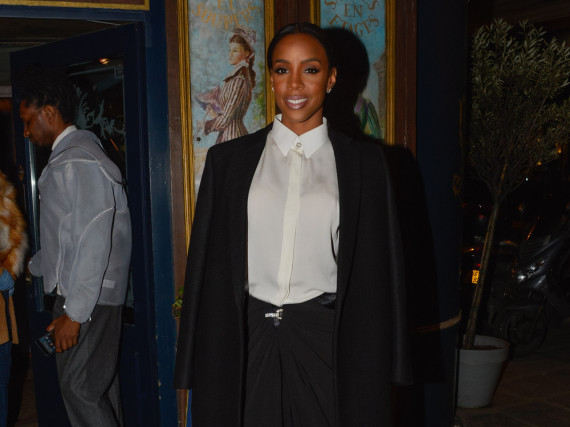 Monochrome Style-Queen: Kelly Rowland