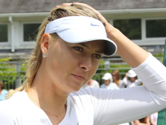 Das könnte bitter werden: Maria Sharapowa drohen bis zu vier Jahre Spiel-Sperre