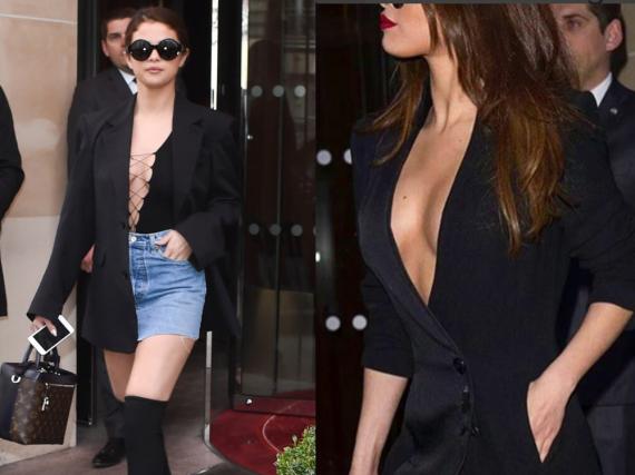 Ziemlich freizügig in Paris: Selena Gomez
