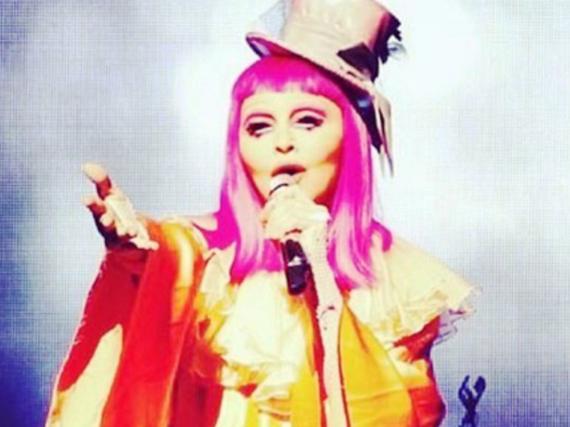 Madonna bei ihrer Show in Melbourne
