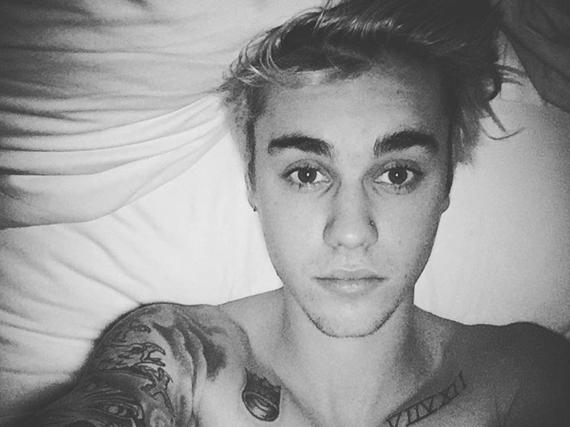 Sachen gibt's: Justin Bieber mit Nasenpiercing
