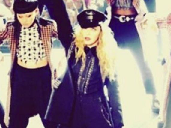 Hat ihre Emotionen nicht im Griff: Madonna bei ihrer Show in Melbourne