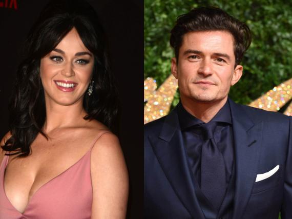 Sind erst seit kurzem offiziell zusammen: Katy Perry und Orlando Bloom