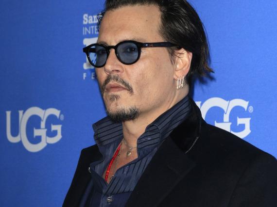 Johnny Depp ist kein großer Fan von Donald Trump