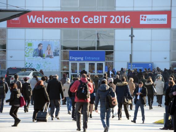 Die CeBIT 2016 läuft vom 14. März bis zum 18. März