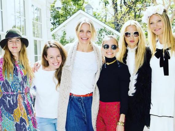 Gwyneth Paltrow erhält bei der Promotion ihrer neuen Hautpflegeserie prominente Unterstützung