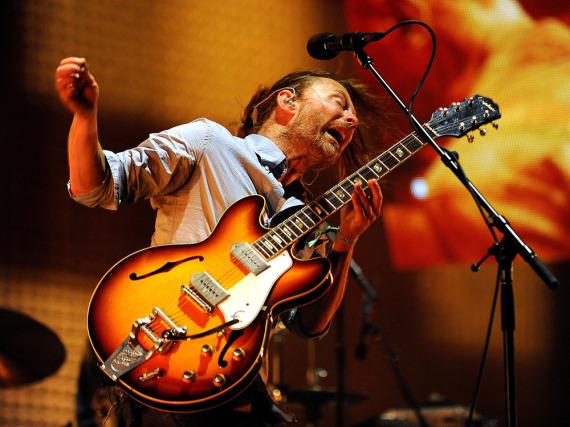 Zurück an der Gitarre: Radiohead gehen 2016 wieder auf Tour - samt Sänger Thom Yorke