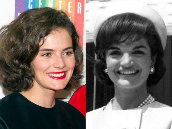 Rose Kennedy Schlossberg (l.) ist ihrer Großmutter Jackie wie aus dem Gesicht geschnitten