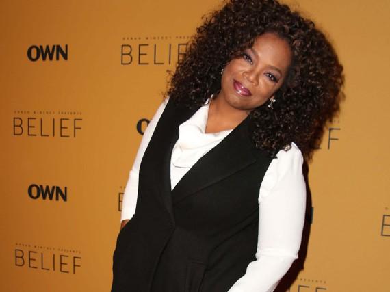 Oprah Winfrey bei einer Veranstaltung in New York