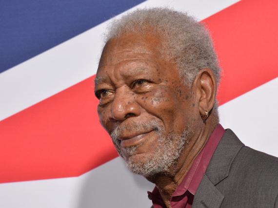Erfolgreich wegen, nicht trotz der grauen Haare: Morgen Freeman