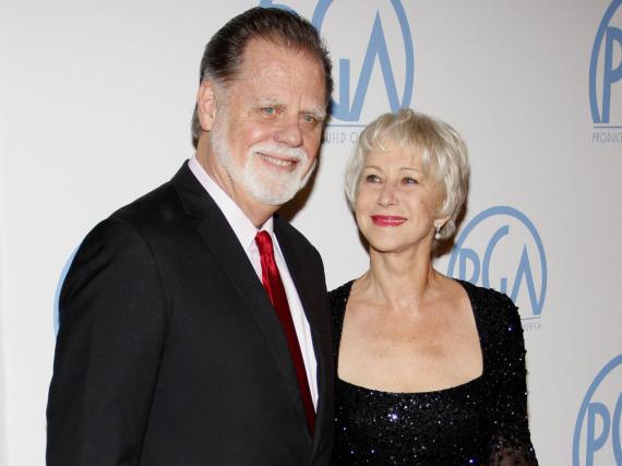 Auch nach 19 Ehejahren wirken Helen Mirren und ihr Mann Taylor Hackford wie frisch verliebt