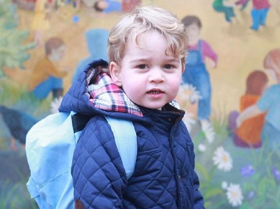 Prinz George geht mittlerweile in den Kindergarten