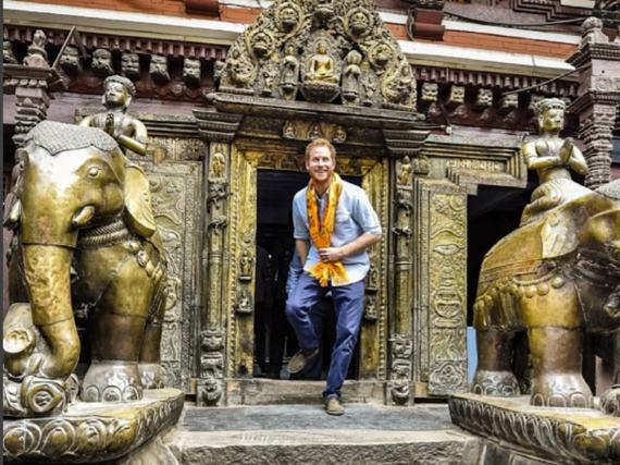 Prinz Harry ist derzeit zu Gast in Nepal