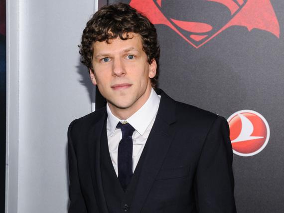 Jesse Eisenberg bei der Premiere des Superhelden-Streifens in New York