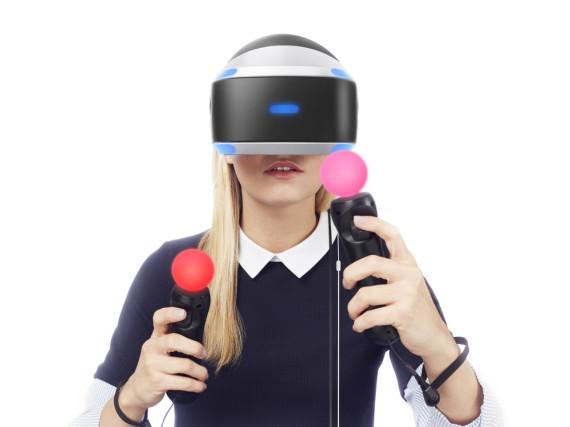 So sieht PlayStation VR von Sony aus