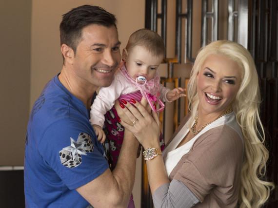 Lucas Cordalis und Daniela Katzenberger sind überglücklich über ihre kleine Tochter