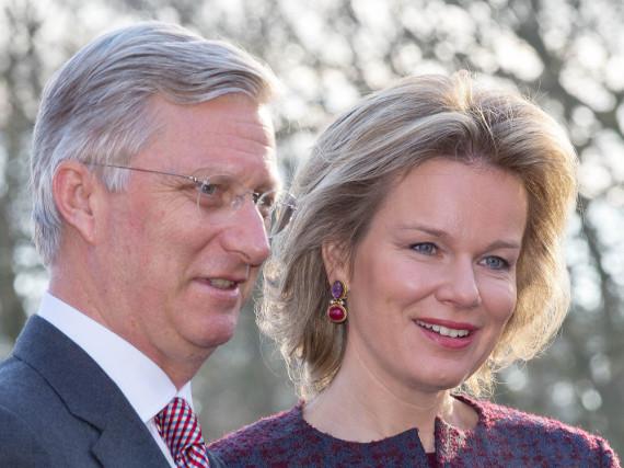 König Philippe und Königin Mathilde sind schockiert über die Terroranschläge in Brüssel