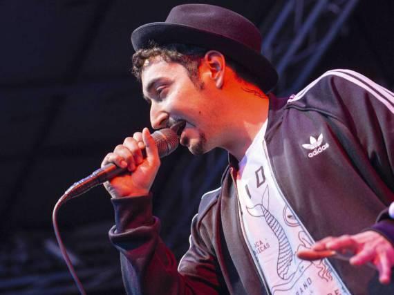 Rapper Eko Fresh ist derzeit als Schauspieler in der Sitcom