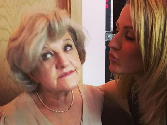 Ellie Goulding und ihre Oma
