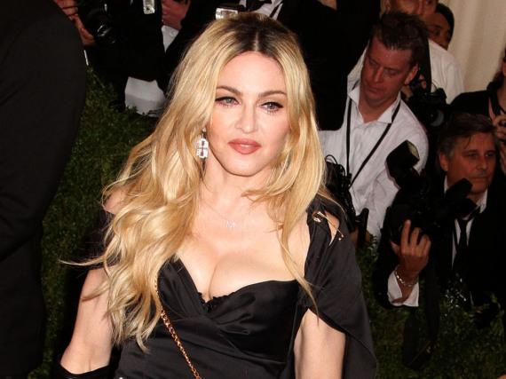 Verhält sich wie eine Diva: Madonna