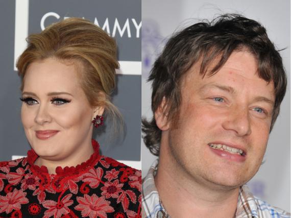 Adele scheint kein großer Fan von Jamie Oliver zu sein