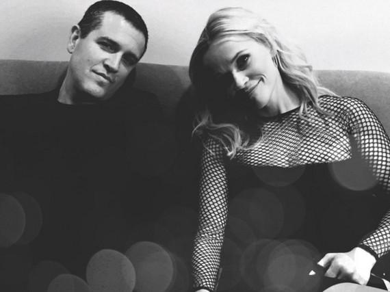 Reese Witherspoon und ihr Ehemann Jim Toth