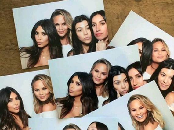 Chrissy Teigen hatte Spaß mit den Kardashians