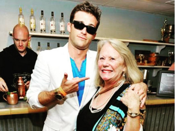 Scott Eastwood Arm in Arm mit seiner Mutter Jacelyn Reeves
