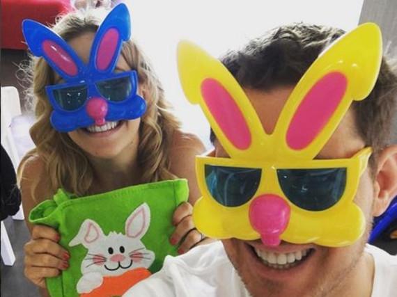 Michael Bublé schickt witzige Ostergrüße aus Argentinien