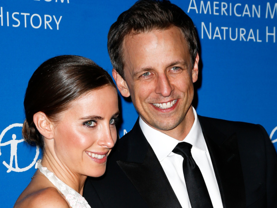 Seth Meyers und seine Frau Alexi Ashe sind Eltern geworden