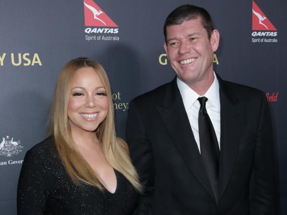 Mariah Carey und ihr Verlobter James Packer bei der G'Day USA Gala 2016 in Los Angeles