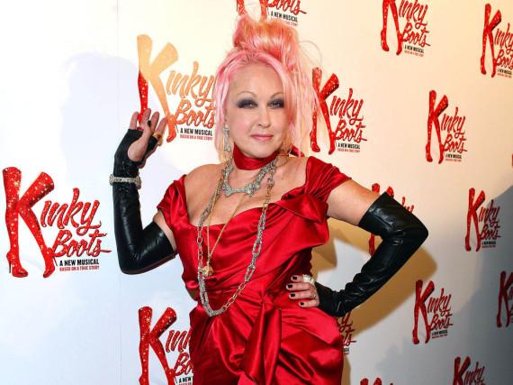 Wird mit einem Stern auf dem Hollywood Walk of Fame verewigt: Cyndi Lauper