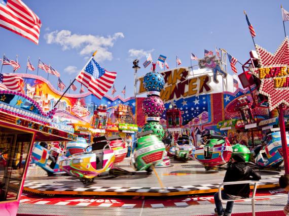 Auch in diesem Jahr gibt es auf dem Frühlingsfest zahlreiche Attraktionen