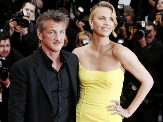 Charlize Theron und Sean Penn beim Filmfest in Cannes im Jahr 2015