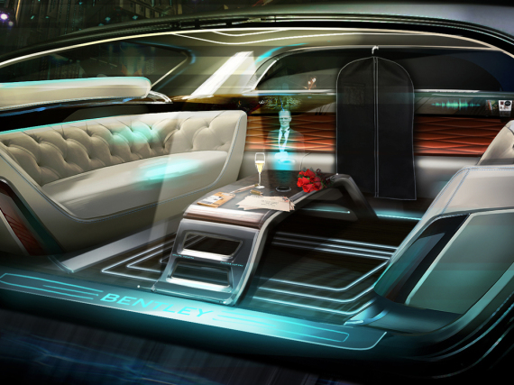 Total digital: Bentley mit virtuellem Butler