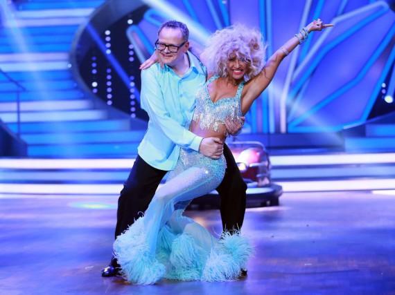 Ulli Potofski und Kathrin Menzinger dürfen wieder gemeinsam auf die Tanzfläche