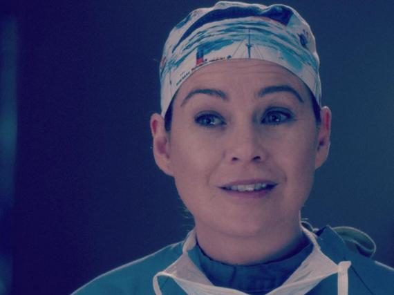 Dr. Meredith Grey (Ellen Pompeo) ist nun Witwe mit drei Kindern